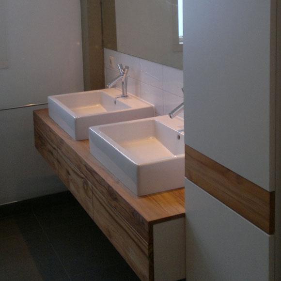Maatwerk badkamer meubel