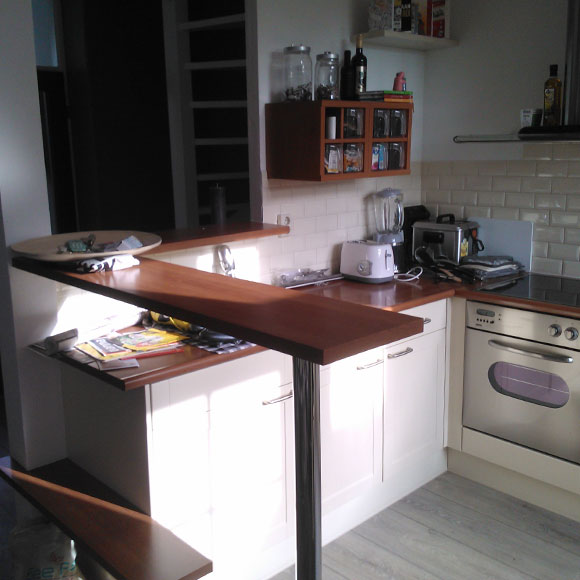 Ruimte besparing keuken