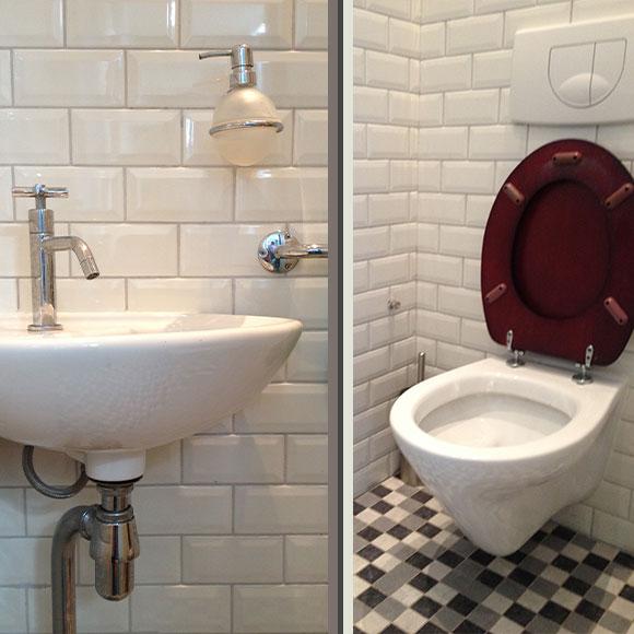 Toilet met fonteintje